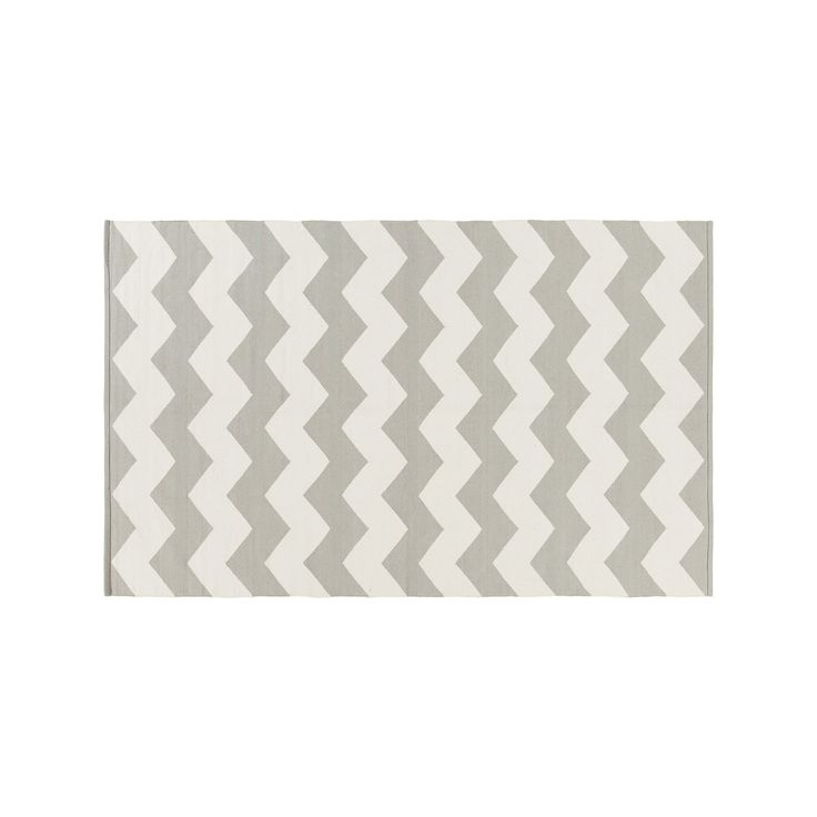 Surya Vogue Collins Chevron Rug, Grey