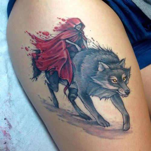 Wolf Woman Tattoo By Otheser Tattoo: 65 Best Images About Tattoos On Pinterest