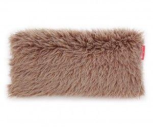 Living Concept  Poduszka dekoracyjna z futra  Alpaka Czekoladowa 80x40 cm