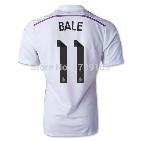 Find More Sports Jerseys Information about  chandal real madrid 2015 thailand quality soccer jerseys free shipping ronaldo Bale JAMES Champions League camisetas de futbol,High Quality jersey bib,China jersey Suppliers, Cheap jersey wings from Big xin jersey on Aliexpress.com