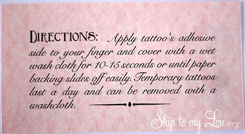 mustache valentine card printable with tatto