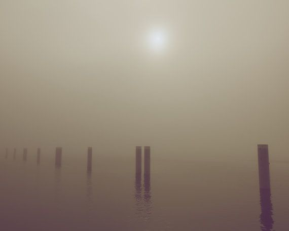 Fog Steveston British Columbia Vintage Photo Art by LumierePhotos, $30.00
