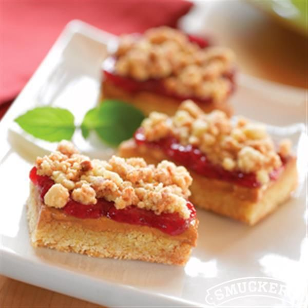 Peanut Butter Berry Bars from Smucker's®