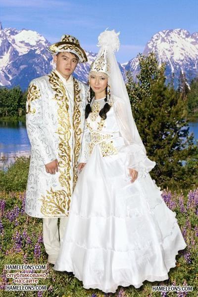 Изображения национальных костюмов казахов
