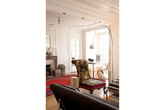 18 best images about paris l 39 appartement haussmannien on for Style eclectique decoration