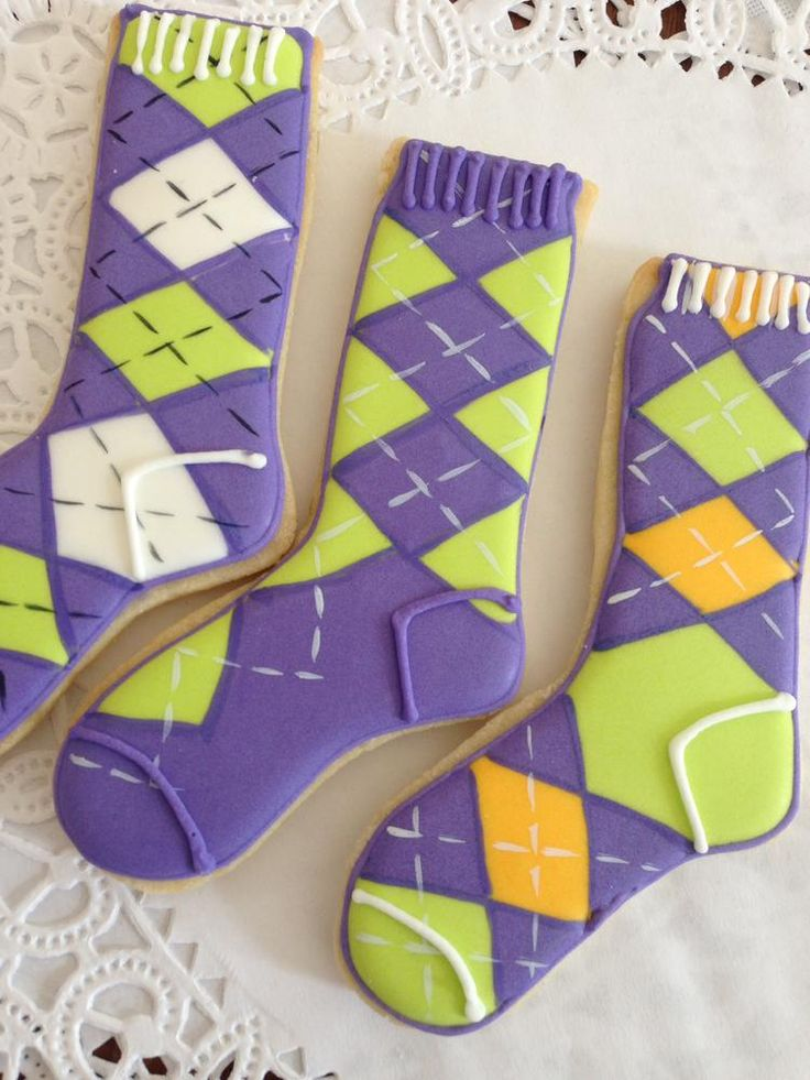 Argyle Socks | Cookie Connection