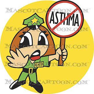 Asthma Cartoon Flo Meter F K Off Asthma