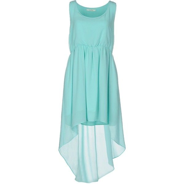 Duck Farm Short Dress ($67) ❤ liked on Polyvore featuring dresses, sky blue, blue dress, mini dress, sky blue dress, sleeveless dress and short blue dresses