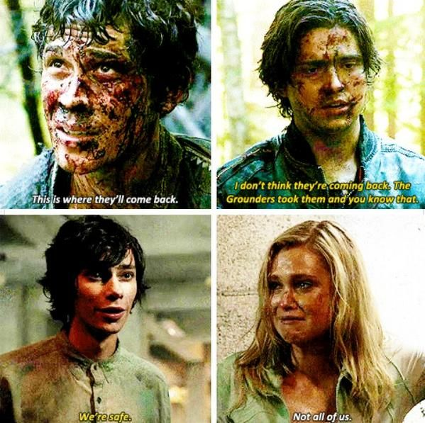 The 100 Season 2 premiere was AMAZING ♥♥ craving Bellarke though Twitter