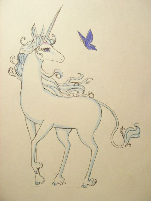 thinking about this too.....love the last unicorn!