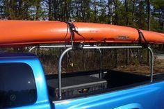 Home made pick-up kayak rack? - Kayaking and Kayak Fishing Forum - SurfTalk