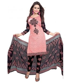 Classy Combo Salwar Kameez $19.Looking gorgeous could never be as easy as it is now, with this Classy Combo Salwar Kameez from the house of Lurap. Combining an unusual shade of light pink with black, this salwar kameez set is sure to be an excellent addition for your traditional clothing collection for the season.