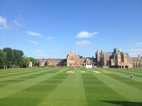 Best cricket ground in the world has to be Clifton College, no brainer #bbccricket