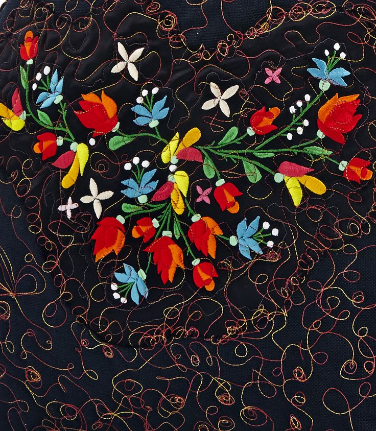 Romani Unique sporty pattern 2014 gypsy roma style rose fashion textile rose flower flowers embroidery inspiration hungary budapest