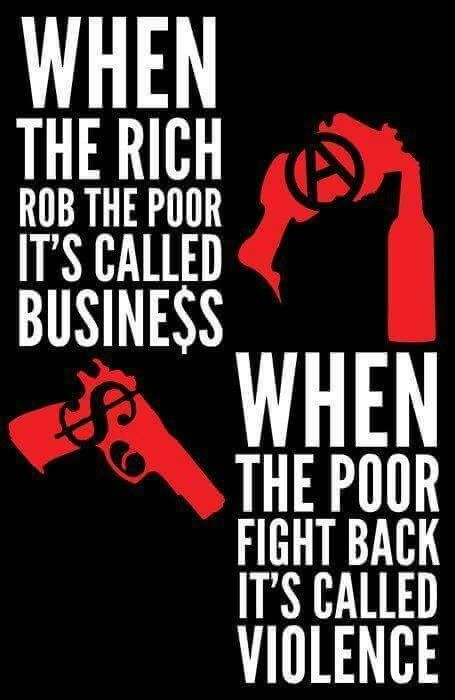 When the rich rob the poor