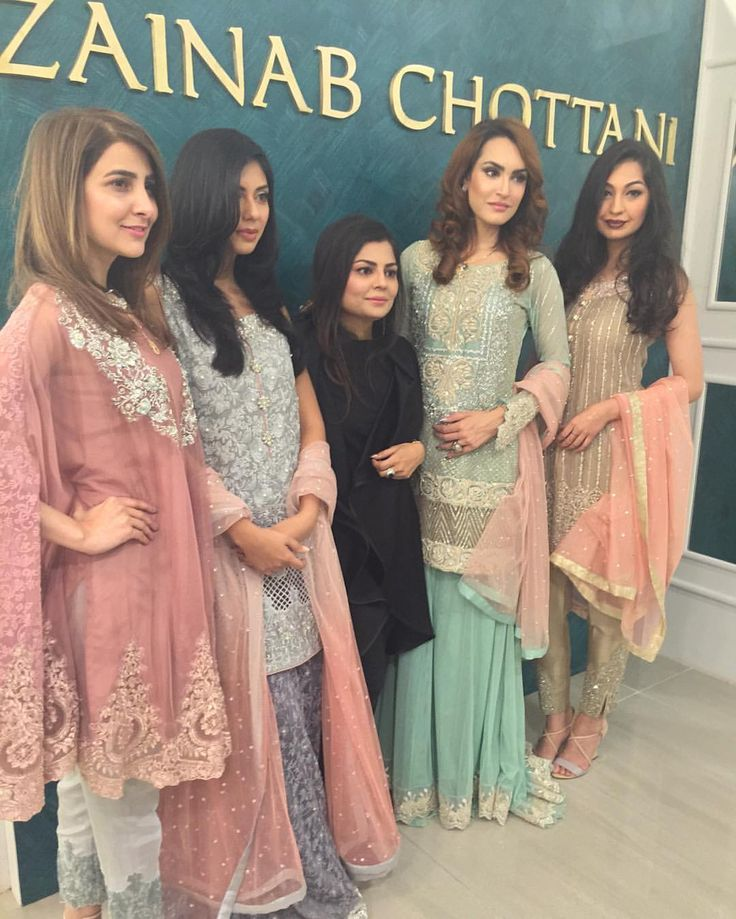 "833 Likes, 7 Comments - Nadia Hussain (@nh_nadiahussain) on Instagram: ""Hair & makeup done by Nadia Hussain salon for launch of Zainab Chhotani store #nhsalon #models…"""