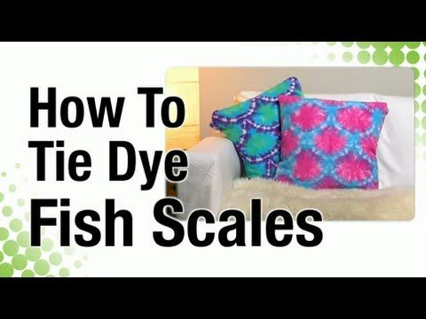 Lauri shares how easy it is to create a cool fishscale pattern for making custom fabric using Tulip Artisan Dyes! For more tie dye techniques SUBSCRIBE: http...