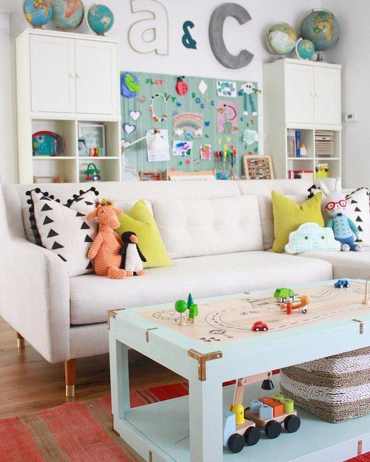 Kid Room Decor Colorful Playroom, Children's Playroom Furniture
