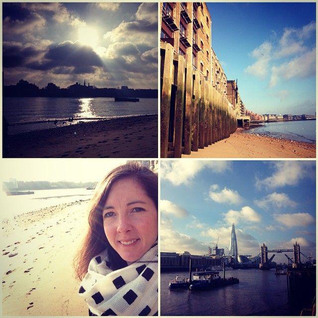 The River Thames is made for sunny Sunday strolls |thiscitylifeldn's photo on Instagram