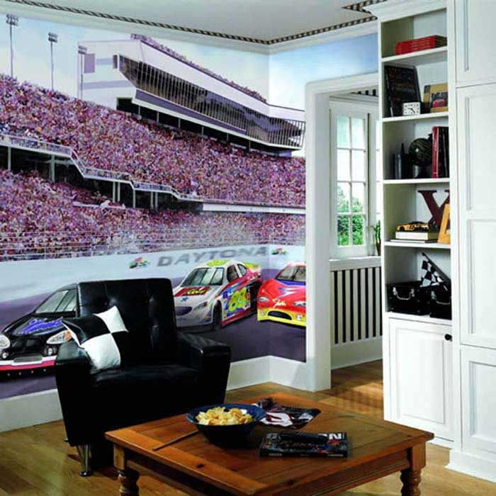 nascar room | nascar room decor for kids4