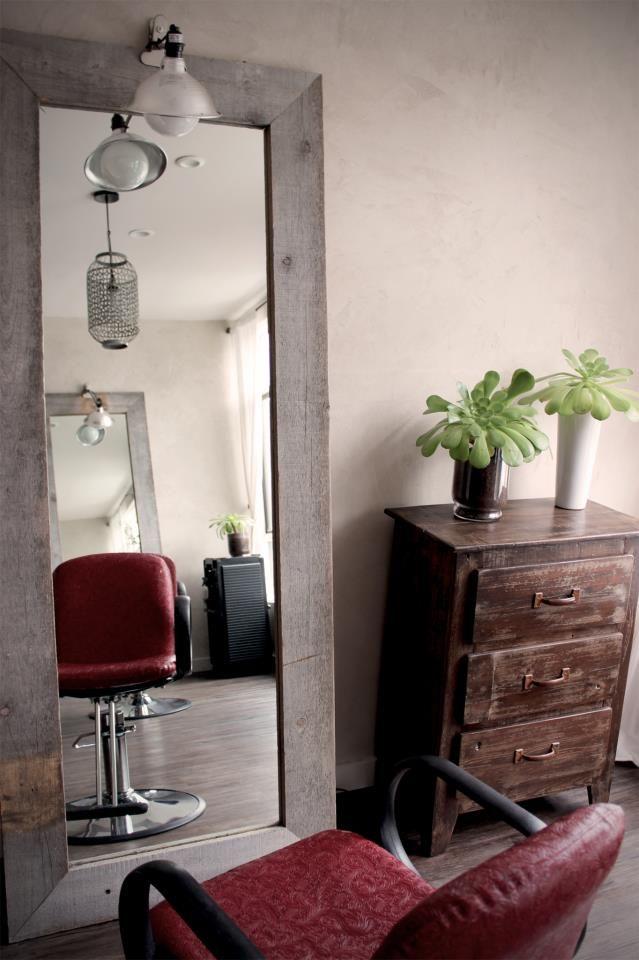 Inside the salon @ Salon Santo Tomas in Old Town San Diego, California