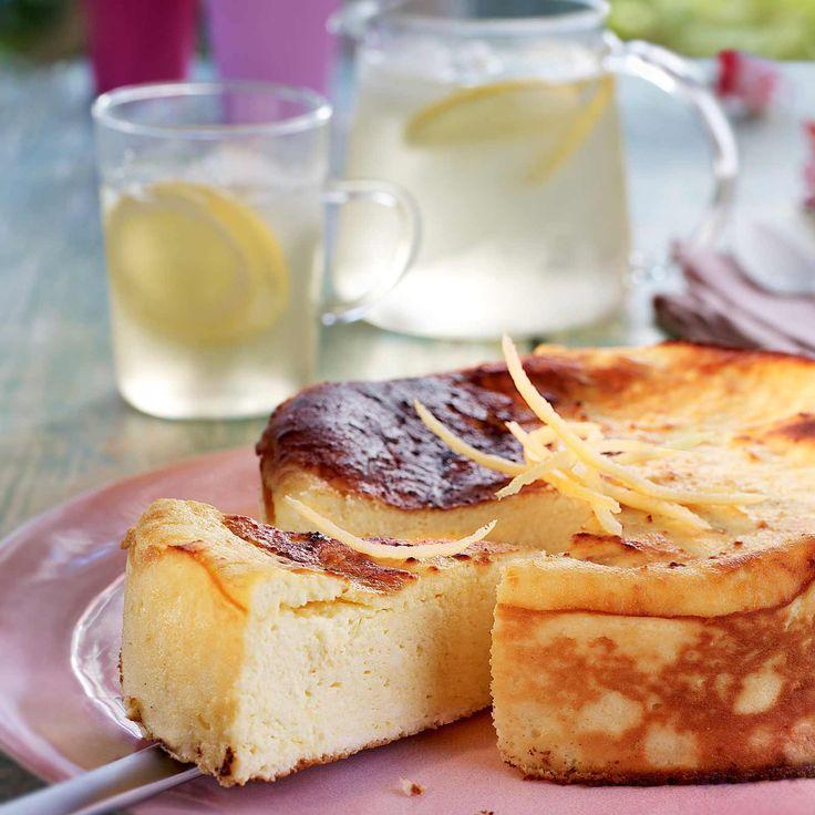 Découvrez la recette fiadone de l'ile de beauté sur cuisineactuelle.fr.