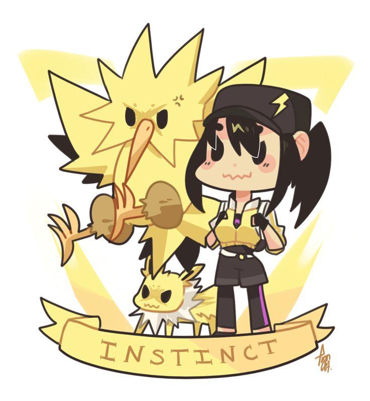 Pokemon Go | Team Instinct by sho-ba.tumblr.com