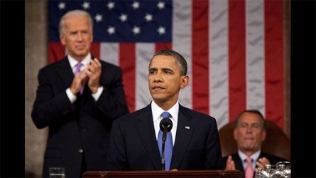 Barack Obama - Obama's Ratings Drop Before State of the Union Address