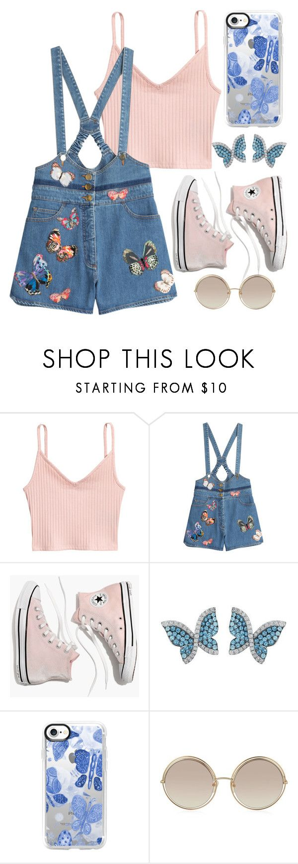 """summer of love 27/31 - Inspiration "" by decimaollin ❤ liked on Polyvore featuring Valentino, Madewell, Swarovski, Casetify and Marc Jacobs"