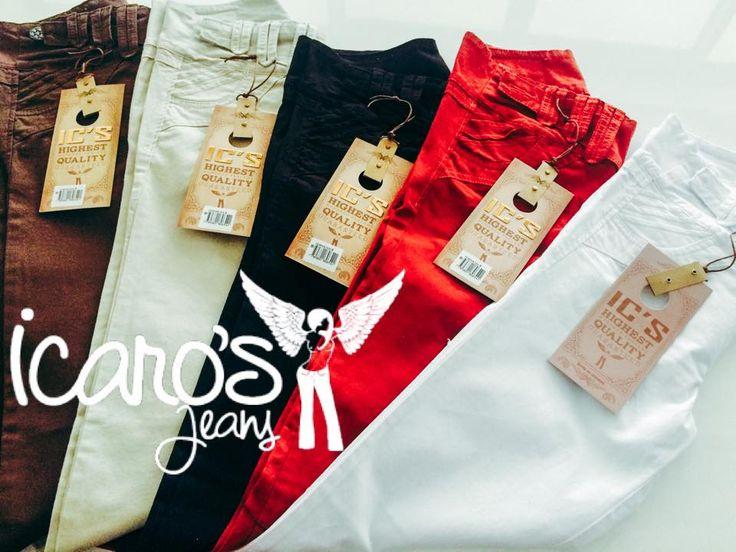 Resalta el ángel de tu cuerpo con nuestra #MarcaDelDía: Icaro's Jeans, disfruta de su calidad y buenos precios, ventas al por mayor y detal. Locales: 1105- 2248. tel: 3521289, cel: 3112568888. #ColombianoCompraColombiano
