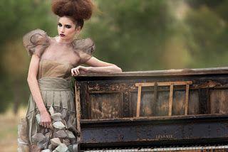 'The Piano Cemetery'  Photographer: Tristan Jud Creative Direction: Mona Jud Hair: Beau Bailey @ Hans Jud Hairdressing Make-up: Amanda Galloway Model: Sheridan New Designer: Nicola Yeung /www.facebook.com/nicolayeung.fashiondesign http://www.nicolayeung.blogspot.com.au/ #nicolayeung #fashion #yeung #editorial #photography