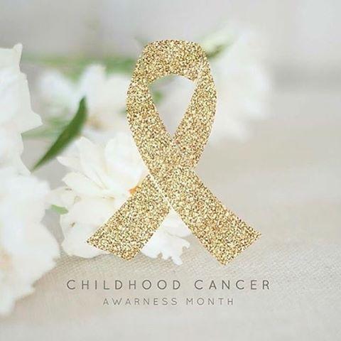 September is Childhood Cancer Awareness Month! #BeBoldGoGold