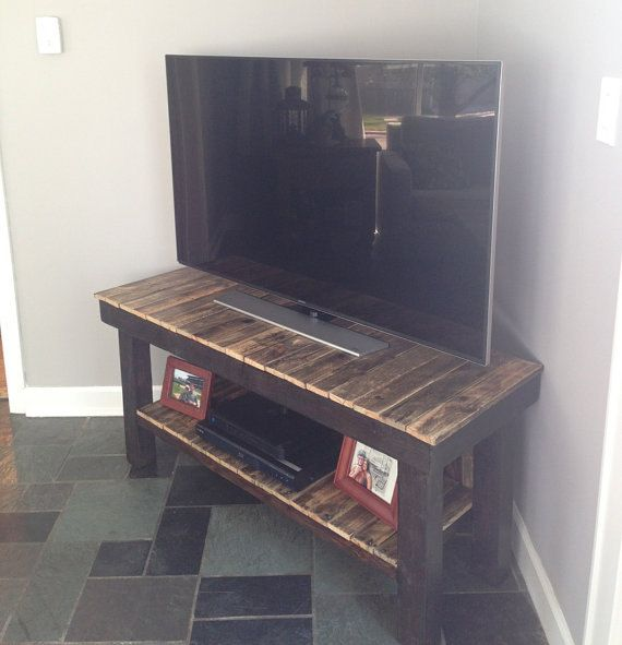17 best ideas about reclaimed wood tv stand on pinterest rustic tv stands entertainment stand. Black Bedroom Furniture Sets. Home Design Ideas