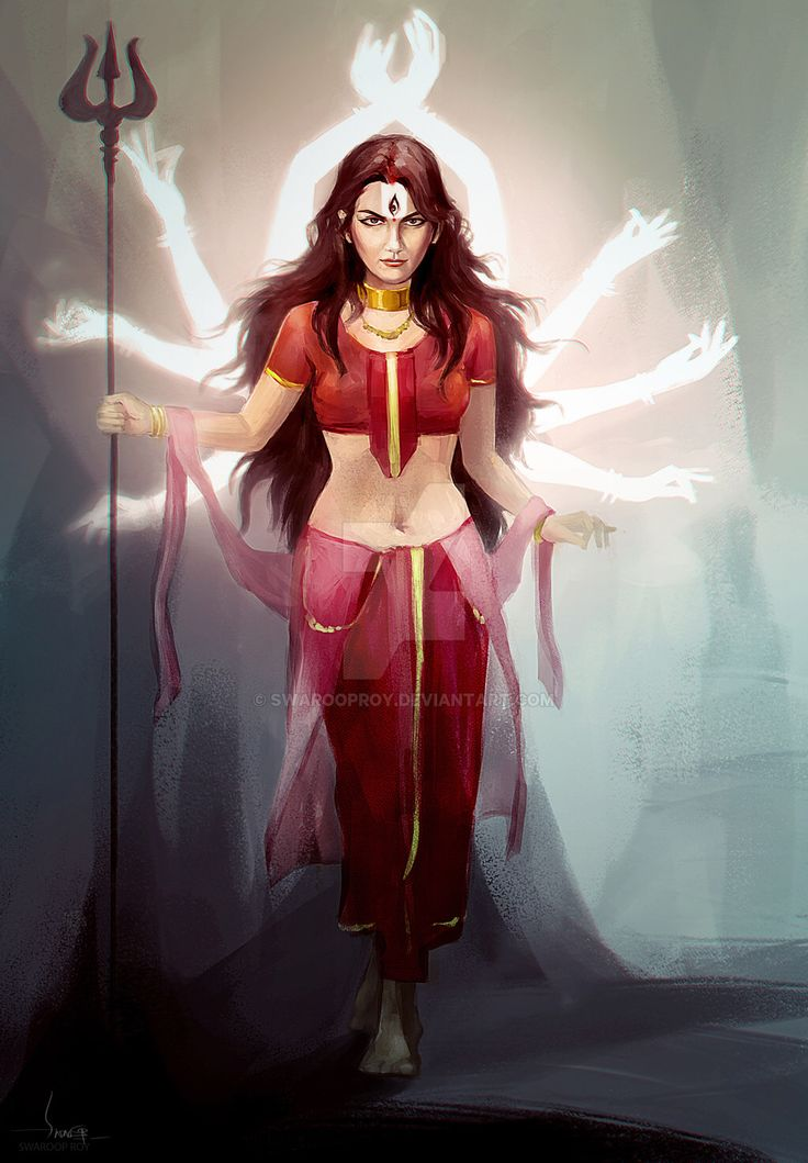 Durga Invocation by swarooproy on @DeviantArt
