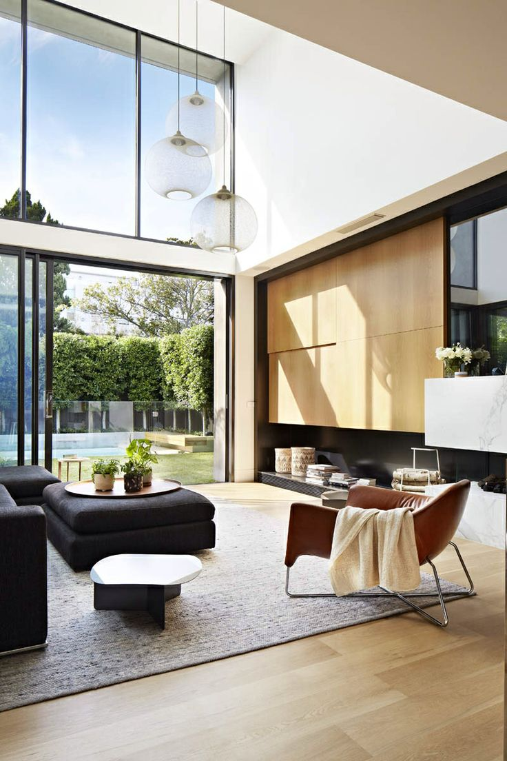 Victorian house colorful interiors for a classy exterior south yarra - Oban House Is A Modern Property With Natural And Organic Material Pallet By Building Company Agushi Workroom Design In South Yarra Melbourne Australia