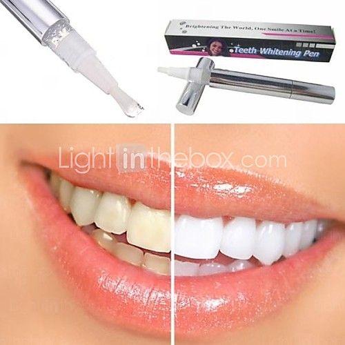 USD $ 3.99 - dente gel sbiancante candeggina macchie eraser rimozione dei denti che imbiancano penna istantanea