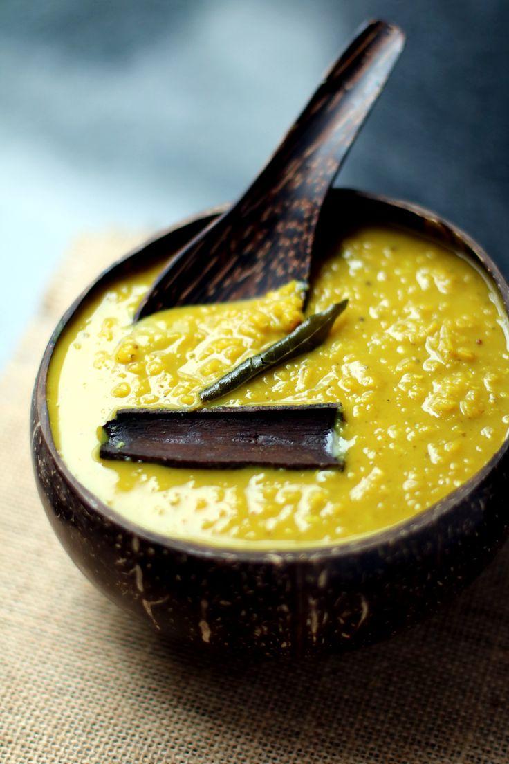 Dahl de lentilles corail recette du Sri Lanka I love it!