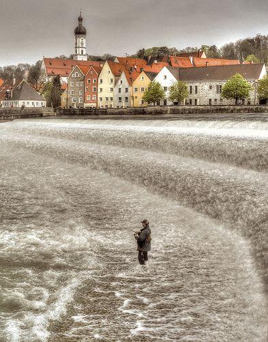 Winter Fishing - Landsberg, Germany