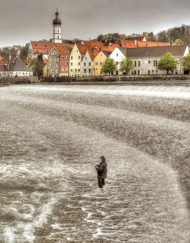 Winter Fishing - Landsberg, Germany