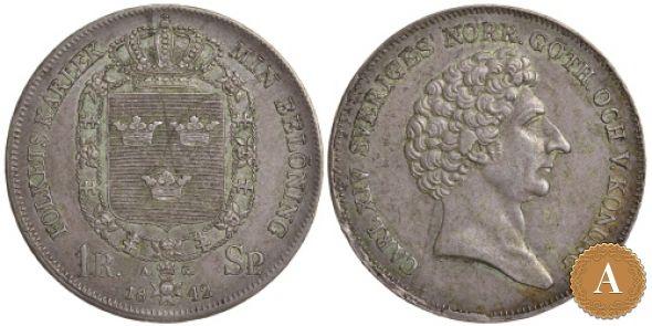 1 РИКСДАЛЕР 1842