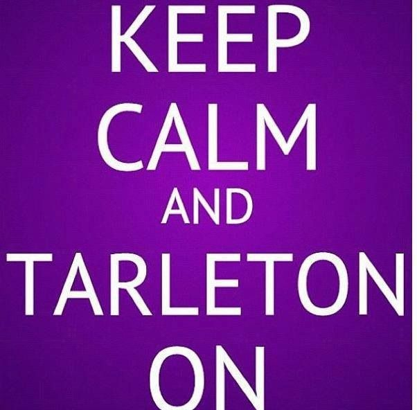 Tarleton State - I bleed purple everyday :)