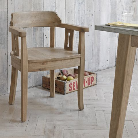 CEDRIC KITCHEN CHAIRS Named after a very special, hard-working friend of our Charlie who lived for 70 years in Suffolk. Like Cedric himself, this chair is as solid as they come.