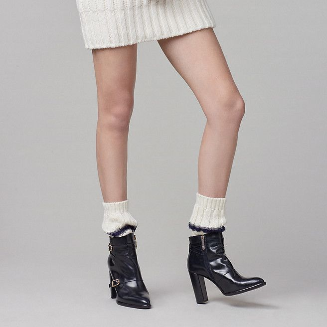Tommy Hilfiger Leather Nautical Boot Gigi Hadid - midnight - Tommy Hilfiger Shoes