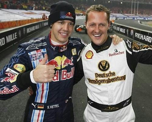 schumi The Race of Champions.