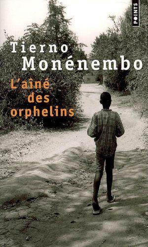 L'aîné des orphelins, Tierno Monénembo, 2000. Le narrateur Faustin Nsenghimana, né d'un père hutu et d'une mère tutsi, parle de lui et de son père Théoneste, l'idiot du village qui lui a appris à voir clair, c'est-à-dire à s'accommoder de tout. Il parle de ceux qui, au Rwanda, ont entouré les collines et ont exhorté les gens à aiguiser les machettes et les couteaux. Lui, Faustin, a continué à jouer au cerf-volant.