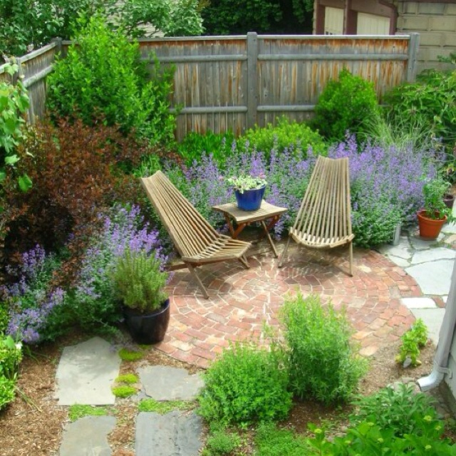 Providence Ri Tiny Garden In Fox Point Neighborhood I Designed
