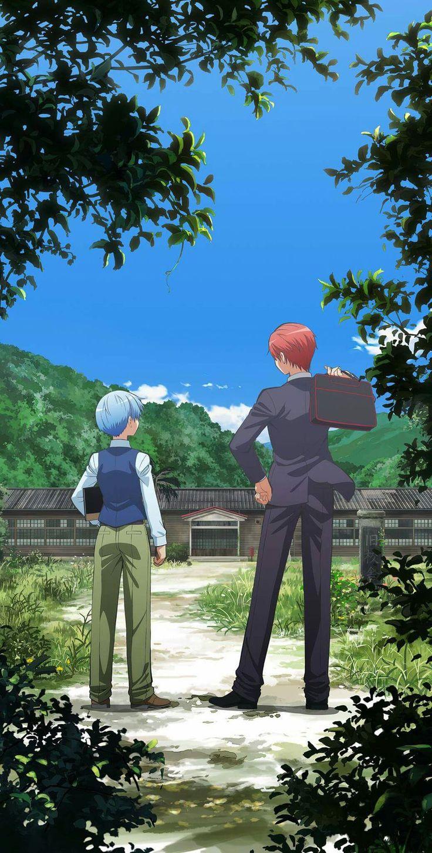 Nagisa and Karma-kun