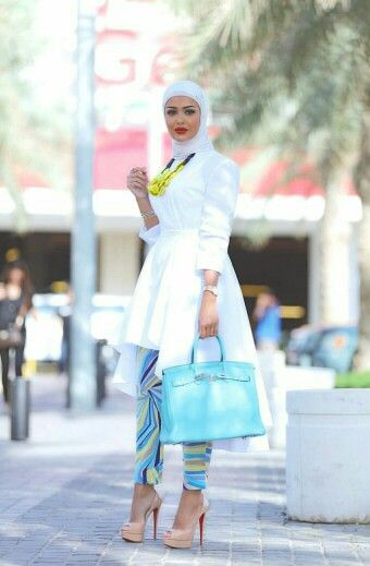 Maybe add a different color hijab. Like blue or yellow.