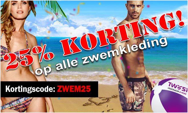 Tot maandag 12 september maar liefst 25% korting op al onze zwemkleding met couponcode ZWEM25 dus profiteer nog snel!   #korting #zwemkleding #swimwear #zwembroek #bikini #strand #zomer #zon #vakantie