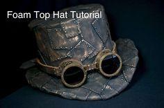 How To Make A Top Hat, DIY Steampunk Fashion Pattern | best stuff